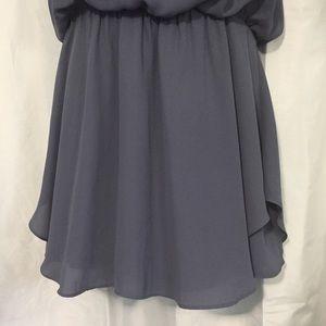 Dresses - Krisa Revolve Flounce Mini Dress